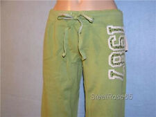 NEW Aeropostale Junior Girls Polka Dot Logo Green Lounge Sweat Pants M Medium