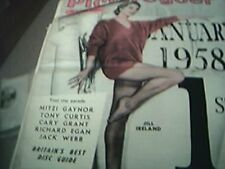 magazine article 1958 film - cover picture jill ireland