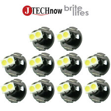 Jtech10 x T4.2 Neo Wedge White Car Instrument Cluster Panel Lamps Gauge LED Bulb