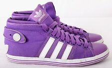 Adidas LYV-029001 High Tops Purple/White Button Loop Lace Sneaker Women's U.S. 9
