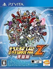 Used PS Vita Super Robot Wars Taisen Z 3rd Tengoku Hen Import Japan