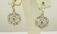 Nolan Miller Pave' Drop Wedding Earrings (S)  QVC sold out