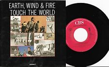 """Earth, Wind & Fire - Touch The World/You & I , 7"""" Single 1987"""