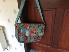 LADIES OILCLOTH SHOULDER-BAG WITH BIRDS,LYDC LONDON, BRAND NEW..