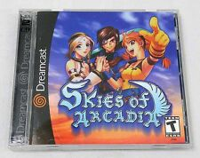 2000 Sega Dreamcast Skies of Arcadia 2 Disk Video Game Near Perfect Condition!