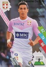 ETG-UP2 GIANNI BRUNO # BELGIQUE THONON CARD ADRENALYN FOOT 2015 PANINI