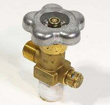 Sherwood Hydrogen Valve for 3AA-2265 Cylinder 3/4-14 Inlet CGA350 Outlet Brass