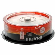200 x MAXELL CD-R MUSIC XL-II Digital Audio REGISTRABILI CDR 80Min