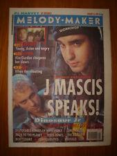 MELODY MAKER 1993 JAN 16 DINOSAUR JR AUTEURS ICE CUBE