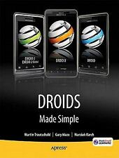 Droids Made Simple: For the Droid, Droid X, Droid 2, and Droid 2 Global (Made Si