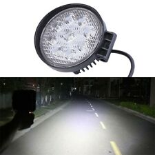 27W 12V Spot LED Work Light Lamp For Boat Tractor Truck Off-road SUV NEW JL