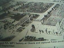picture  1989 reprint 1939 bomb damage okecie polish aircraft