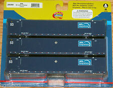 ATHEARN 29350 53' JINDO CONTAINER 3-PACK APL