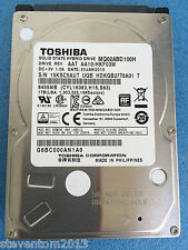 "2.5"" SATA Toshiba MQ02ABD100H  1TB Hybrid Hard Drive  8GB SSD For Laptop upgrade"