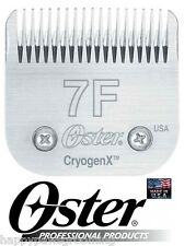 Oster A5 CryogenX 7F Blade PET DOG CAT Grooming*Fit Andis AG,Laube,Wahl Clipper
