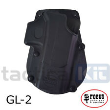 Genuine Fobus Glock 17 19  Roto Rotating Paddle Holster UK Seller GL2 RT