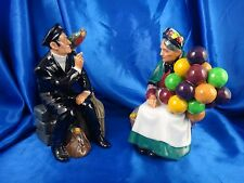 Royal Doulton Shore Leave HN2254 The Old Balloon HN1315 Figurine Made in England