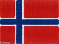 Norway Embroidered Patch 12 x 9CM approx