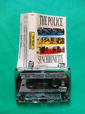 ►►rare Polish cassette THE POLICE Synchronicity Poland mc tape