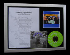 SPIN DOCTORS Little Miss LTD MUSIC CD QUALITY FRAMED DISPLAY+FAST GLOBAL SHIP