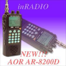 NEU! AOR AR-8200D Top-Handscanner von 100 kHz bis 3000 MHz mit USB PC-Anschluss