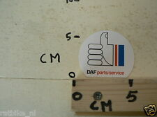 STICKER,DECAL DAF PARTS SERVICE