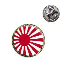 Flag of Japan Sun Rising Lapel Hat Tie Pin Tack