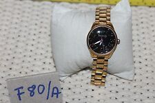 Women's Betseyville Watch BO1 12 Black Face and Gold Band F80/A