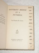 Contract Bridge in a Nutshell by Charles H Goren (1946) First edition