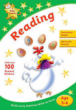 Learn Reading Age 5-6 Activity Sticker Book New