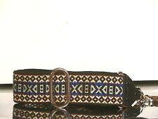 Darker Blue Version of a Classic Hippie Camera Strap A459