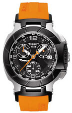 T048.217.27.057.00 Tissot T-Race Orange Rubber Strap Womens Chronograph Watch