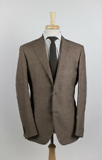 NWT. CARUSO Brown Sport Coat Blazer 52/42 R $1465