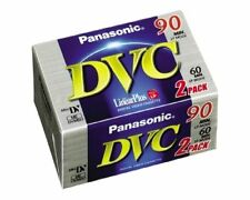 4 X DVC MiniDV BLANK DIGITAL VIDEO CASSETTES LP90 SP60 CAMCORDER RECORDING TAPES
