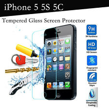 Genuine Tempered Gorilla Glass Hard Film Screen Protector For iphone 5, 5s, 5c