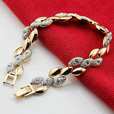 18k Gold Plated Bracelet with Cubic Zirconia Crystals