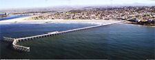 Ocean Beach Pier, Downtown Ocean Beach, San Diego California Aerial Poster  #26