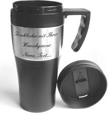 Thermobecher Kaffee, Trinkbecher mit Wunschgravur. 0,4 Liter