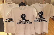 Amhara Resistance t shirts for men and women