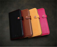 LIM'S Baby Calf Leather Slim Fit Edition Diary Cover Case for iPhone 6 4.7""