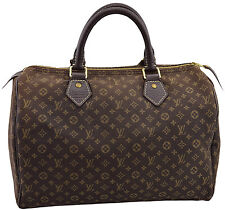 LOUIS VUITTON Jacquard Leather IDYLLE SPEEDY 30 LIN Tote Bag LIMITED EDITION