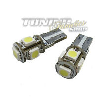 2x T10 W5W 5x SMD LED Innenraumbeleuchtung + Leselampe Birne für Audi