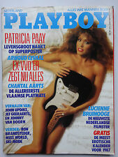 Playboy NL 11/1986, Patricia Paay, Silvana Suarez, Lucienne Bruinooge, Aarts Ch.