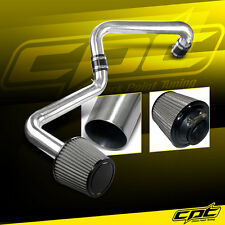 01-05 Honda Civic Automatic 1.7L Polish Cold Air Intake + Stainless Steel Filter