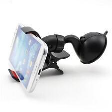 Weiß Auto 360° Drehbar Handy Halterung Für iPhone Samsung Galaxy iPod GPS