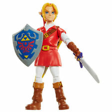 New World of Nintendo 10cm Link in Goron Tunic Figure Red