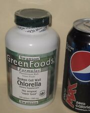 Broken Cell Wall Chlorella, from Swanson     360 tablets, 500 mg each