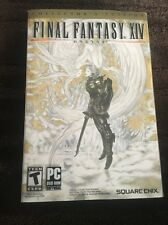 Final Fantasy XIV Online Collector Edition PC RARE