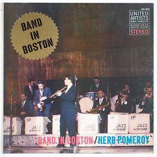 HERB POMEROY: Band in Boston USA UA Stereo DG Jazz Vinyl LP '59 VG++