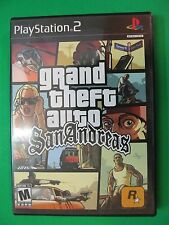 PlayStation PS2 grand theft auto San Andreas Video Game